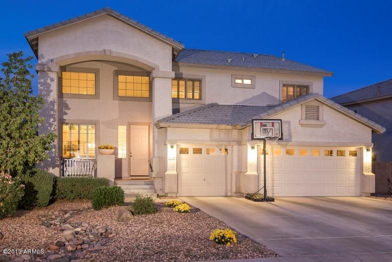 Maricopa real estate basements tri level and 5 car for Tri level homes