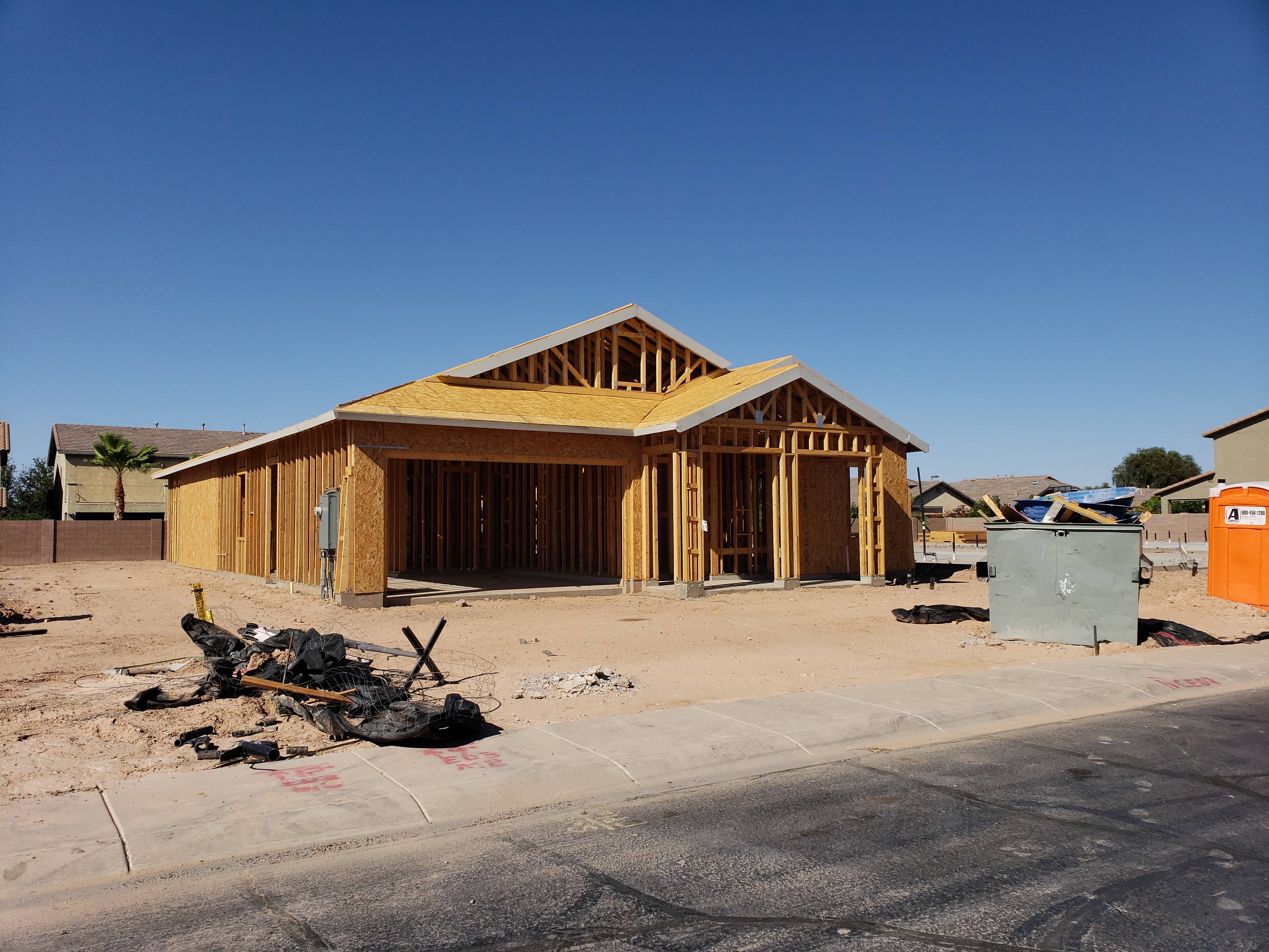 New homes being built in Cobblestone Farms by Fulton Homes? - Brian
